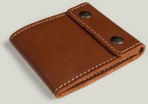 leather wallet Ledergeldbörse braun brown