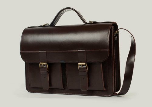 aktentasche mit rucksackfunktion leder satchel bag backpack brown braun