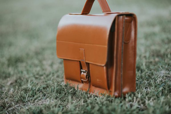aktentasche satchel bag leder leather brown braun